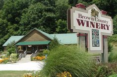 Brown County Winery in Nashville, Indiana    ~ A place I wouldn't mind visiting after a hiking in the state park.