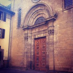 Florence, how I love thee (And thy doors) #doors #florence #firenze
