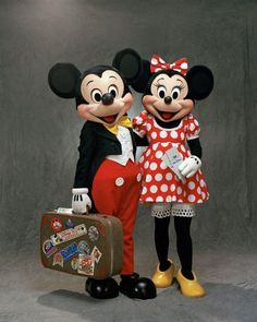 I bet Mickey and Minnie were going on a Disney Cruise! ❤️