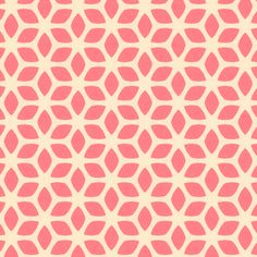 Retro Summer Pink fabric by stoflab on Spoonflower