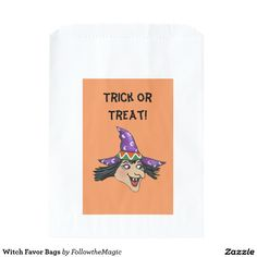 Witch Favor Bags