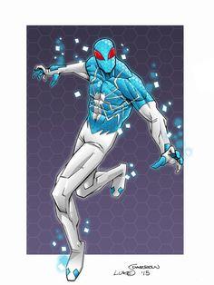 Digital Spider-Man by lukesparrow on DeviantArt