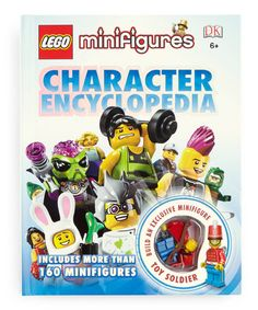 Love this LEGO Minifigures Character Encyclopedia Hardcover on #zulily! #zulilyfinds