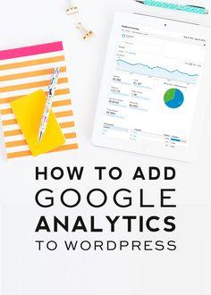 How to Install Google Analytics to WordPress | DesignerBlogs.com
