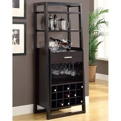 Shop Monarch Specialties I 25 Ladder Style Bar Cabinet at Lowe's Canada. Find our selection of home bar furniture at the lowest price guaranteed with price match + off. Home Bar Furniture, Furniture Deals, Online Furniture, Furniture Design, Furniture Showroom, Cabinet Furniture, Kitchen Furniture, Home Bar Cabinet, Liquor Cabinet