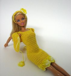 I have never owned a Barbie doll in my life but I admire the skill that made this outfit.