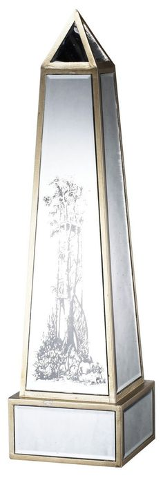 Obelisk sculpture home decor