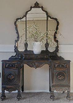 дневник дизайнера: Реставрация старинной мебели. Удивительное преображение от Лизы