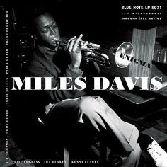 "Miles Davis Enigma on 10"" Vinyl Remastered and Reissued As Part of the Blue Note 75th Anniversary Vinyl Reissue Campaign Enigma offers up four previously unreleased Miles Davis performances from the B"