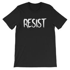 b2e71f8ee09 RESIST Dark Unisex T-Shirt Sunnies, Sloth, Baby Knitting, Clothing Company,