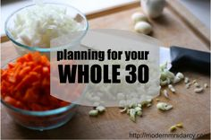 Dreading your January Whole 30? Just start it now (with 9 planning tips).