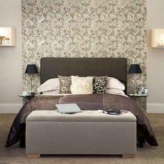 Móveis para decorar os pés da cama, puff.