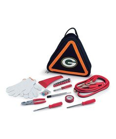 Take a look at this Green Bay Packers Roadside Emergency Kit by Picnic Time on #zulily today!