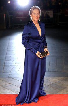 Meryl Streep http://www.thewrap.com/meryl-streep-goes-full-miranda-priestly-karl-lagerfeld-oscar-dress-drama/