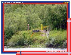 Confini amministrativi - Riigipiirid - Political borders - 国境 - 边界: 2006 NO-RU Norra-Venemaa Norvegia-Russia
