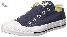 Converse Ct A/s Slip, Sneakers Mixte Adulte, Bleu (Navy), 35 EU - Chaussures converse (*Partner-Link)