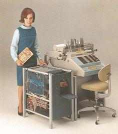 Burroughs Series E 1400 Electronic Computing/ Accounting Machine  c.1966