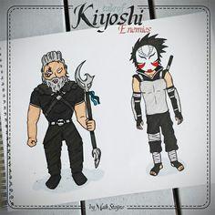 Tale of Kiyoshi - 2 kinds of enemies.