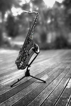 tenor saxophone Saxophone Instrument, Tenor Sax, White Art, Black And White, Piano, Smooth Jazz, Jazz Blues, White Picture, Image Photography