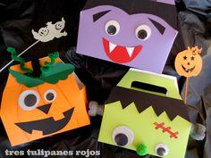 Halloween DIY cajitas para chuches