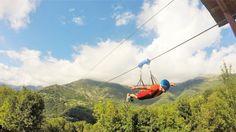 Arcansel – il volo dell'arcobaleno – è una spettacolare struttura ludico ricreativa all'aria aperta realizzata nel Comune di Frassinetto