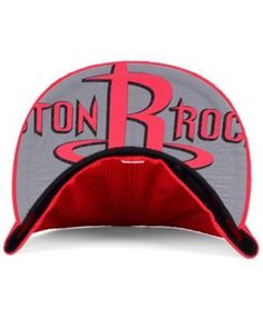New Era Houston Rockets On-Court Collection Draft 59FIFTY Fitted Cap - Red 7 1/2