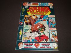 Superman Family 176, (1976), Supergirl, Lois Lane, Jimmy Olsen,Krypto, DC Comics C15 by HeroesRealm on Etsy