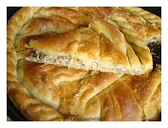 Κιμαδόπιτα Πρωτοχρονιάτικη / {Kimadopita} Minced Beef Greek Filo Pie / Stella's Κουζινομπερδέματα Greek Pita, Greek Pastries, Savory Muffins, Christmas Cooking, Greek Recipes, Different Recipes, Cooking Time, Hot Dog Buns, Dessert Recipes