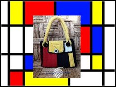 Capitan Uncinetto: Mondrian Bag