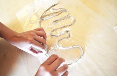 DIY rope words - could do this with bakers twine and make words for scrapbooking! Cowgirl Birthday, Cowgirl Party, Fun Crafts, Diy And Crafts, Arts And Crafts, Diy Wedding, Wedding Day, Dallas Wedding, Green Wedding