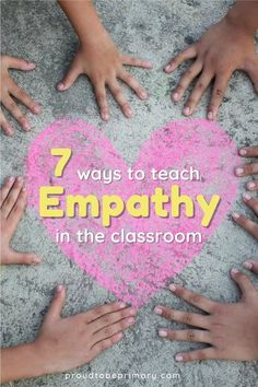 Teach kids empathy and compassion through mindful, fun lessons, discussions, and social skills activities that build social awareness and community in the primary classroom (kindergarten, first, second, and third grade). Kids will learn what it means to be in someone else's shoes with the activity connected to the social-emotional learning children's book suggestions. Grab the free wrinkled heart activity and heart printable for your classroom lesson plans.