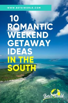 The South is home to many beautiful destinations for a romantic weekend getaway. However, these 10 stand out as the top destinations for romance, history, beauty, and adventure. With beach towns, historic cities, and mountain getaways there's something on this list for everyone! #weekendgetaways #romanticgetaways #vacation #travelthroughthesouth #southerntravel #weekendgetawayideas #romanticideas #travel Weekend Getaways For Couples, Romantic Weekend Getaways, Romantic Vacations, Best Vacations, Romantic Travel, Usa Travel Guide, Travel Usa, Travel Guides, Travel Tips