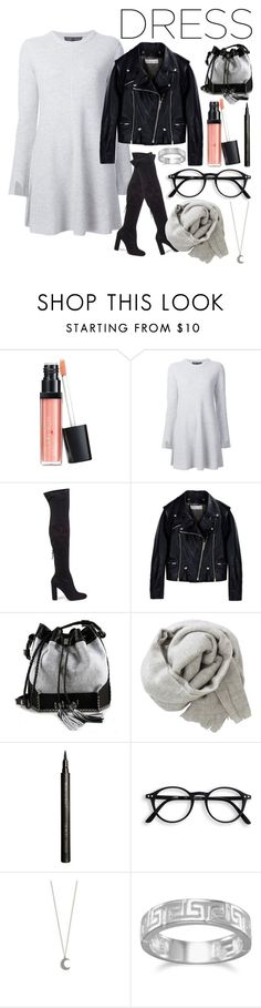 """""""Long Sleeve Dress"""" by disapproval ❤ liked on Polyvore featuring Laura Geller, Proenza Schouler, Steve Madden, Golden Goose, Carianne Moore, Brunello Cucinelli, Giorgio Armani, BillyTheTree, longsleeve and longsleevedress"""