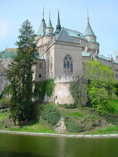 My top three castles - Bojnice Castle, Slovakia