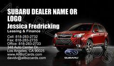 2014 Subaru Forester Business Card ID# 20903