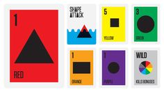Card games by raj grainger, via Behance Game Cards, Card Games, Orange And Purple, Composition, Playing Cards, Behance, Shape, Learning, Board