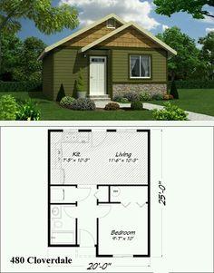 Casa de 1 quarto