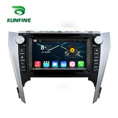 Quad Core 1024*600 Android 5.1 Car DVD GPS Navigation Player Car Stereo for Toyota Camry 2012 Bluetooth Wifi/3G