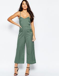 Image 1 of ASOS Tailored Jumpsuit with Pocket Detail