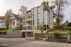 Obere Bergstrasse 7, 6004 Luzern Art And Architecture, Multi Story Building, Exterior, Contemporary, Mansions, House Styles, Outdoor Decor, Actuel, Facades