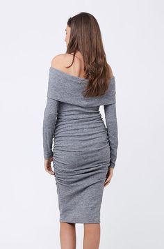 dbfbfe7d6c4c2 Maternity Styles - cool maternity dresses   Ripe Maternity Womens Maternity  Bonnie Dress Grey S
