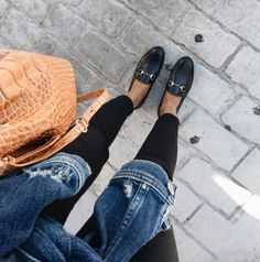 70 Best Loafer Shoes Ideas for Women - Loafers Outfit - Ideas of Loafers Outfit - 70 Best Loafer Shoes Ideas for Women # Black Loafers Outfit, Black Shoes, Loafers For Women Outfit, Shoes Women, Black Pants, Gucci Loafers Women, Fashion Models, Fashion Outfits, Sport Chic