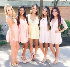 Q: SCHOLARSHIP PROGRAM HELP - I'm the Scholarship chair for my sorority and I need to put on some sort of scholarship event to promote lifelong learning within the chapter. It needs to be educational,. Homecoming Dresses, Bridesmaid Dresses, Wedding Dresses, Junior Dresses, Trendy Dresses, Sorority, Put On, My Girl, Lace Dress