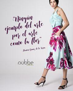"""VIVA LA #PRIMAVERA!  """"Ningún ejemplo del arte por el arte como la #flor"""" (Ramón Gómez de la Serna)  Te atreves con el #floralprint? La #falda Jimena es una verdadera oda a las #flores, y combinada con el #top Menta resulta un #look super #primaveral.   Imagen: Falda Jimena y top Menta. Colección Nubbe Clothes #SS17  http://nubbeclothes.com/shop/faldas-y-pantalones/falda-jimena/ http://nubbeclothes.com/shop/tops-y-camisas/top-menta/   #moda #fashion #madeinspain #modagallega"""