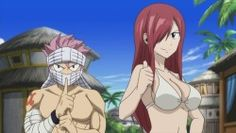 Natsu ase referenca a kakashi sensei Anime Fairy Tail, Fairy Tail Art, Fairy Tail Ships, Fairy Tales, Fairy Tail Erza Scarlet, Fairy Tail Natsu And Lucy, Fairy Tail Family, Fairy Tail Girls, Fairy Tail Characters