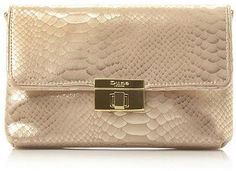 Womens gold bag from Dune - £59 at ClothingByColour.com
