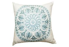 Research and Apply Product Knowledge  Task 6  Medallion 18x18 Pillow, Natural  Divine Designs