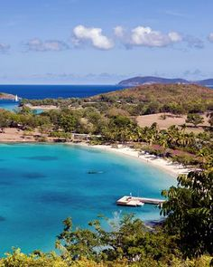 Trunk Bay Beach, St. John, U.S. Virgin Islands (12 Best Caribbean Beaches for Weddings)