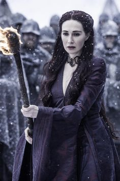 Carice van Houten as Melisandre (season 5, episode 9)