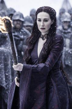 Carice van Houten as Melisandre (season 5, episode 9)